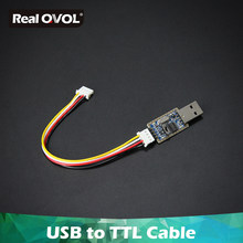 RealQvol FriendlyARM USB a TTL Cable serie de depuración/Cable de consola para Nanopi(China)