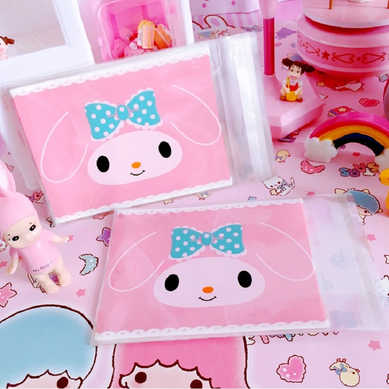 50pcs 100pcs 10 13cm Cartoon Cute Rabbit Candy Cookie Bags Wedding Candy Bags Gift Opp Bags Food Packing Party Easter Favors in Gift Bags Wrapping Supplies from Home Garden