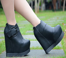 2016 Autumn And Winter New 15cm Plus Velvet Boots Online Shopping For High Heeled Shoes Office