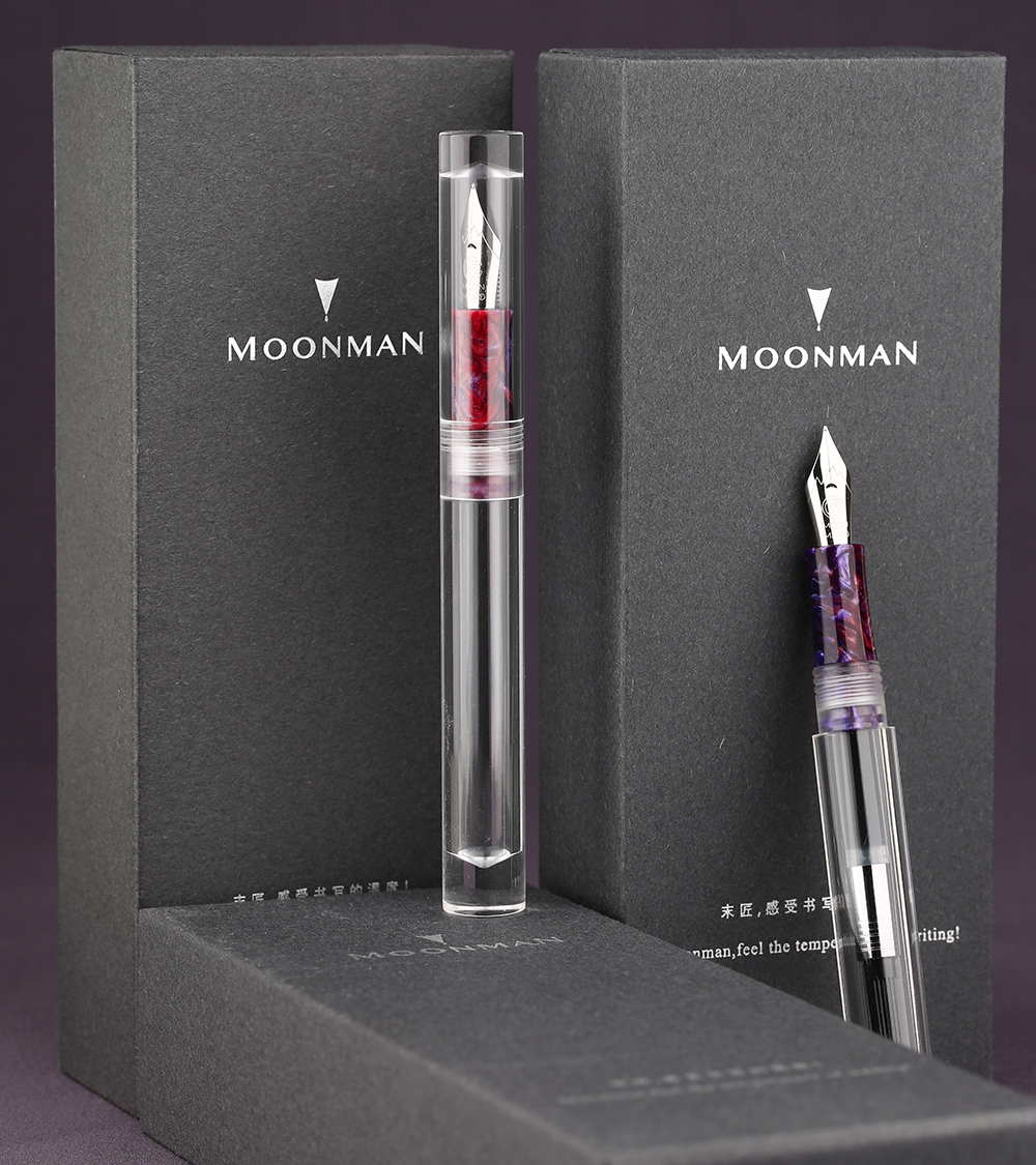 On-Sale! NEW Moonman C1 Dropper Fountain Pen Fully Transparent Large-Capacity Ink Storing Iridium Fine 0.6mm Fashion Gift PenOn-Sale! NEW Moonman C1 Dropper Fountain Pen Fully Transparent Large-Capacity Ink Storing Iridium Fine 0.6mm Fashion Gift Pen