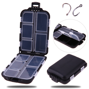 Waterproof 10 Compartments Eco-Friendly Plastic Fi ...