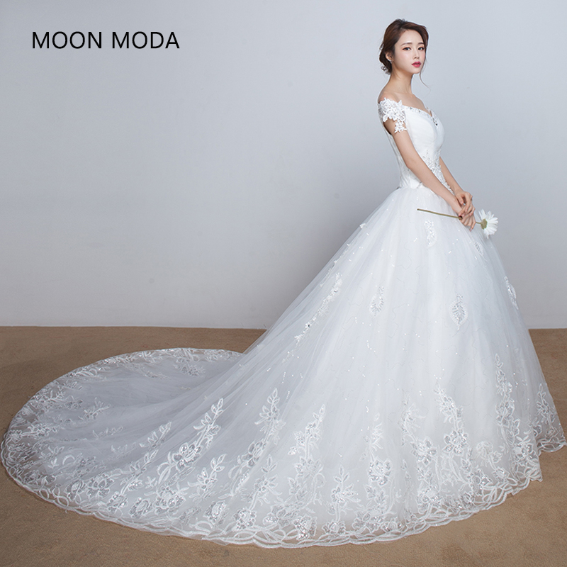 snöre vintage äkta foto brudklänning halv ärm brudgumma enkel stropless kalkon 2018 med långa svans högkvalitativa kristaller