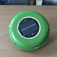 SOLAR VENT FAN AUTOMATIC VENTILATOR for GREEN HOUSE BOAT MOTORHOME RV