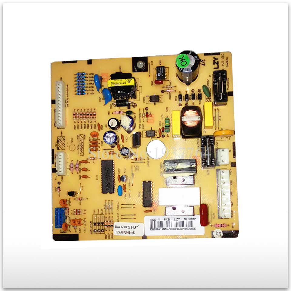 95% new for Samsung refrigerator pc board Computer board DA41-00428B(EA52) ML-PJT V5.0 95% new used for refrigerator computer board h001cu002
