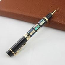 Jinhao Iraurita Đài Phun Nước vỏ bút mực bút Ngòi Đầy Đủ Kim Loại Vàng Kẹp Bút caneta tinteiro Vulpen