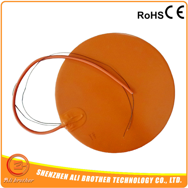 Round Silicone Heater Bed 300mm 3M Adhesive 12v 270w
