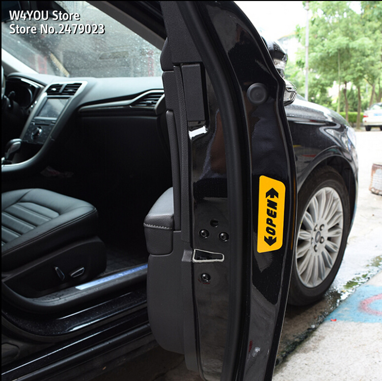 OPEN Car Styling Warning Car Stickers For Opel Astra H