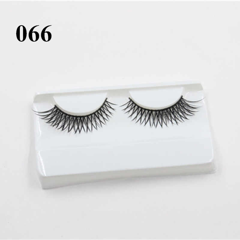 1880dfc5387 ... 3D Mink Strip Lashes Wispie False Eyelashes Cheap Volume Eyelash  Extensions Natural Sex Eye Makeup Extension ...