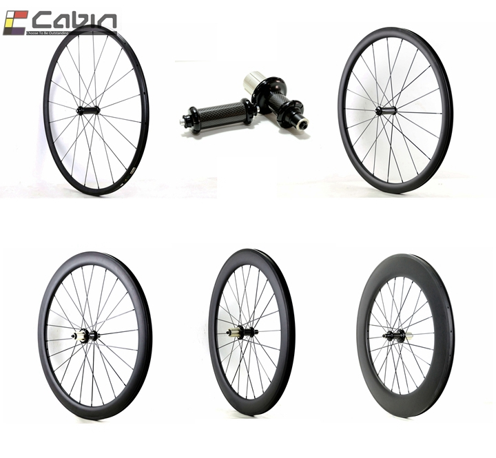 Velosa 700C 24/38/50/60/88mm road bike Carbon Wheels, Clincher/Tubular 23mm wdith Wheelset with R36 carbon fiber hubs цена