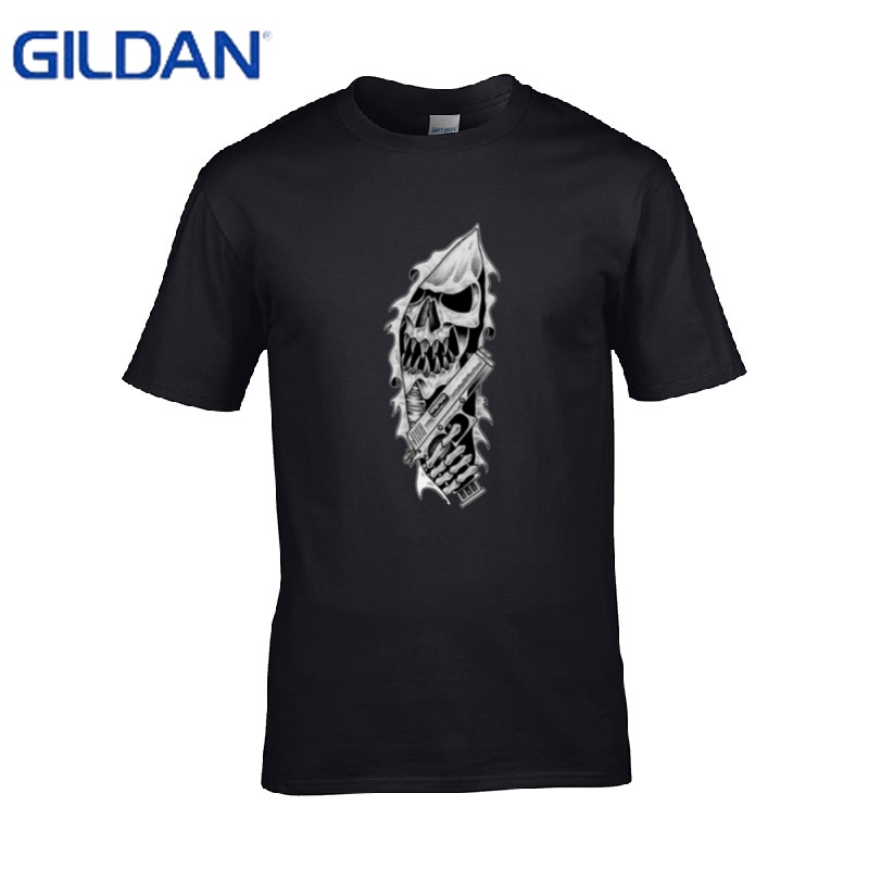 Gangsta rip tshirt 8 colors for men replica clothing round for Online shopping mens shirts