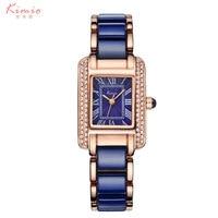 2016 Ceramic Strap Watch White Women Fashion Casual Quartz Wristwatches Luxury Girl Dress Watches Relogio Feminino