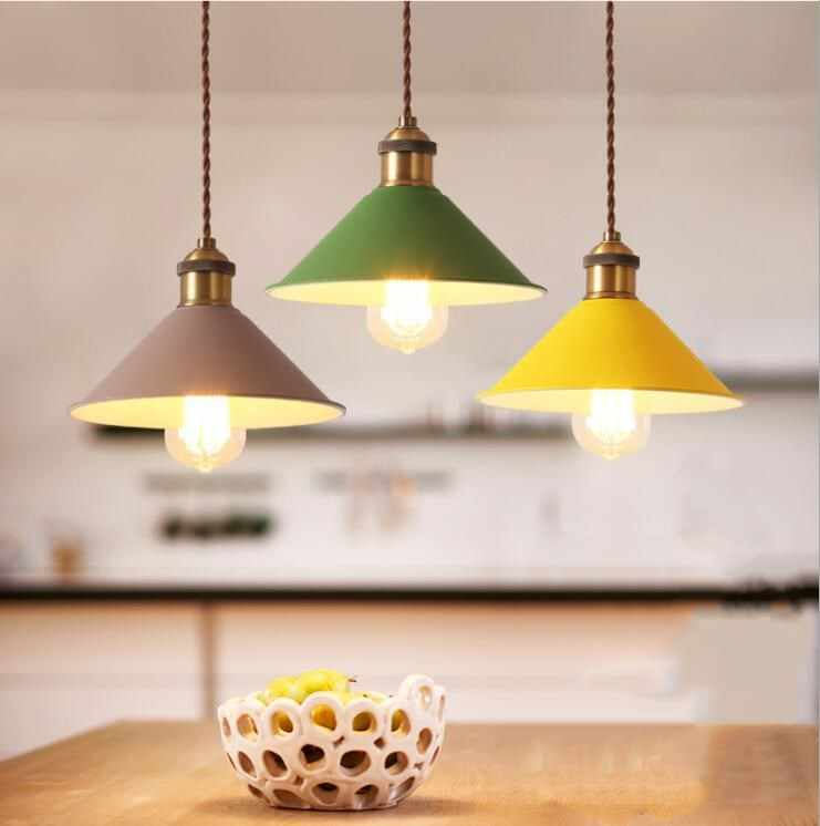Vintage lighting chandelier Edison Retro Pendant Lamp Holder With Wire  AC 110-220V Chandelier E27