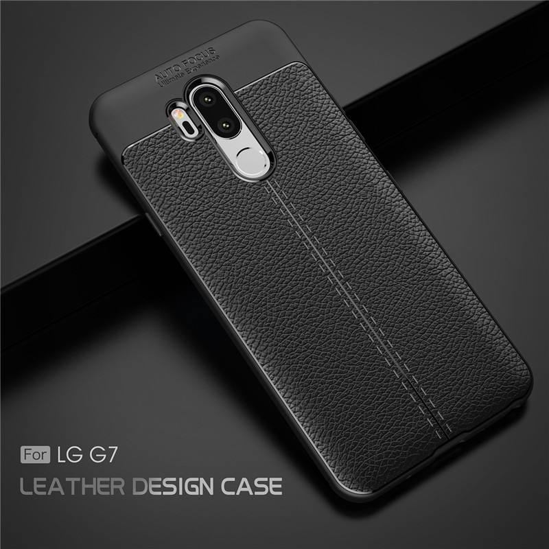 nuovo stile 8b38f b0b00 US $3.32 38% OFF|Beworlder For LG G7 Case G7 Plus Back Shell Soft Silicone  Case TPU ShockProof Protective Anti Slip Phone Cover For LG G7 ThinQ-in ...