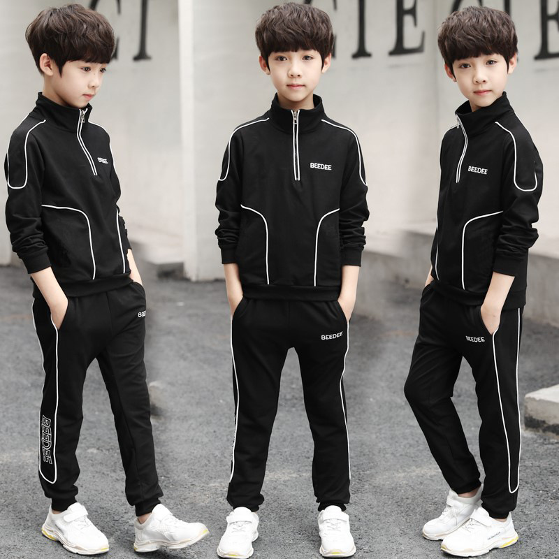 Boys Sportswear Spring Autumn Casual Toddler Teens Boys Clothes Long Sleeve Coat Pant Children Clothing Set Kids Tracksuits