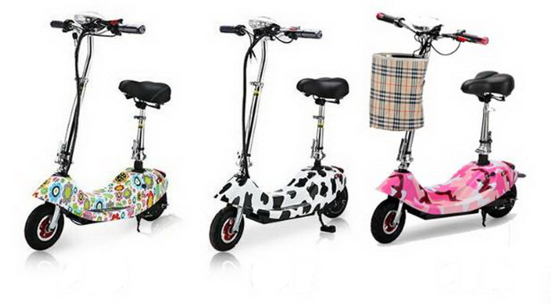 Excellent 261002/Ladies portable mini dolphin electric scooter / can carry children electric bikes / electric cars/Comfortable cushion 15