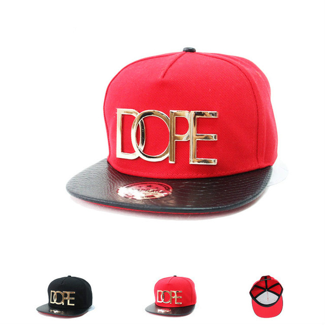 9676d63768322 Logotipo de metal gorra de béisbol de alta calidad de moda Unisex sombrero  hip-hop