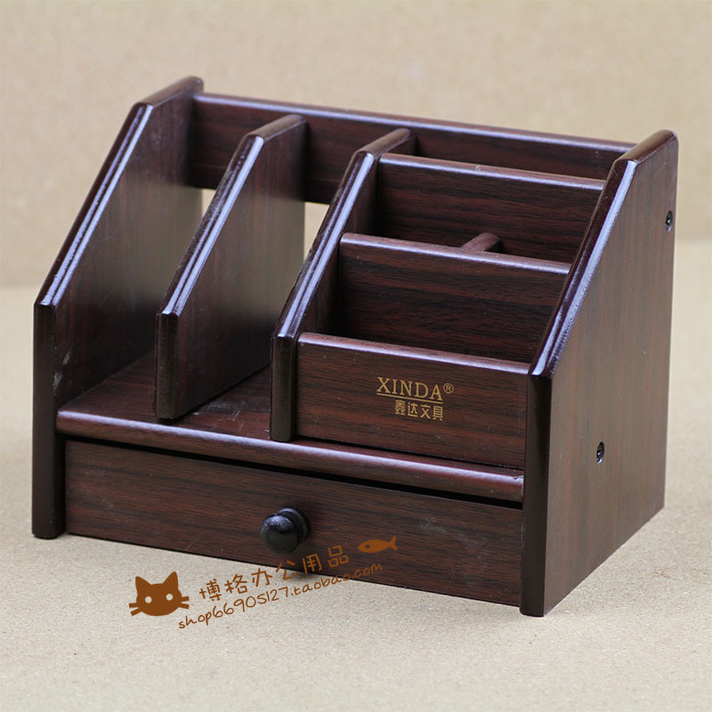 FREE shipping Xinda xd-5025 - quality wool pen wooden pen multifunctional pen office stationery storage pen free shipping wood 6051 wool multifunctional pen office pen holder notes box supplies