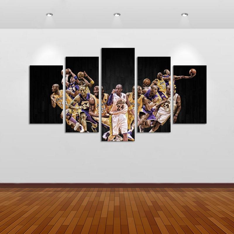sports shoes a88d4 11bc7 ... Kobe Bryant LA Lakers Basketball-7