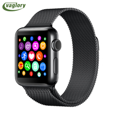 Vaglory Smart watch IWO 2 MTK2502c Upgraded 2nd Generation Bluetooth Smartwatch IWO 1:1 Support Heart Rate Monitor WhatsApp