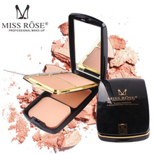 MISS ROSE 2 color powder cake 1 gel foundation fashion with air cushion repair capacity makeup