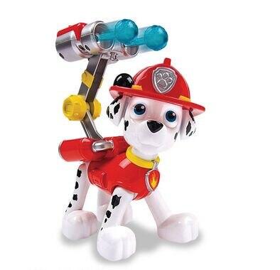 20 cm Yavrusu Devriye Canine Devriye Köpek Oyuncaklar Rus Anime Bebek Aksiyon Figürleri için Araba Oyuncak Patrulla Canina Juguetes Hediye çocuk