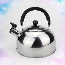 все цены на 1PC Whistling Kettle Stainless Steel For Electric Stove Gas Hob Camping Teapot Kettle Water Bottle Boat Cooking 3L 20*11cm онлайн