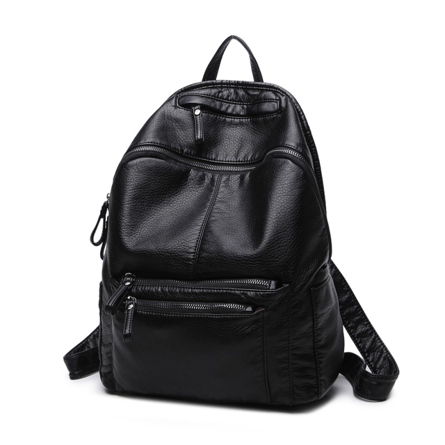 Women Fashion Backpack College Student Travel Bag Satchel Schoolbag Large Capacity Ladies Pretty Shoulders Package Birthday Gift