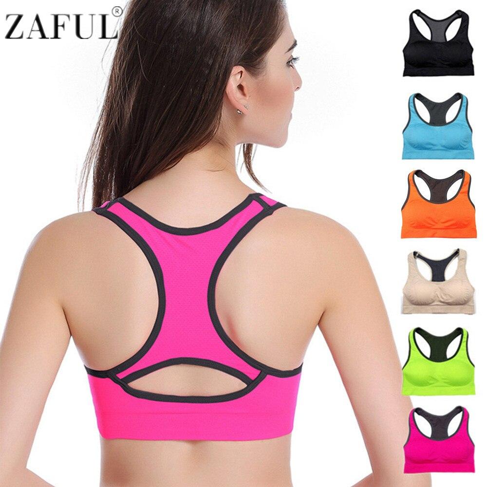 ZAFUL Professional Women Absorb Sweat Top Athletic Vest ...