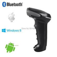 Портативный 1D Лазерный Беспроводной Bluetooth USB Сканер Штрих-Кода Code Reader Для Apple, IOS Android Ос Windows