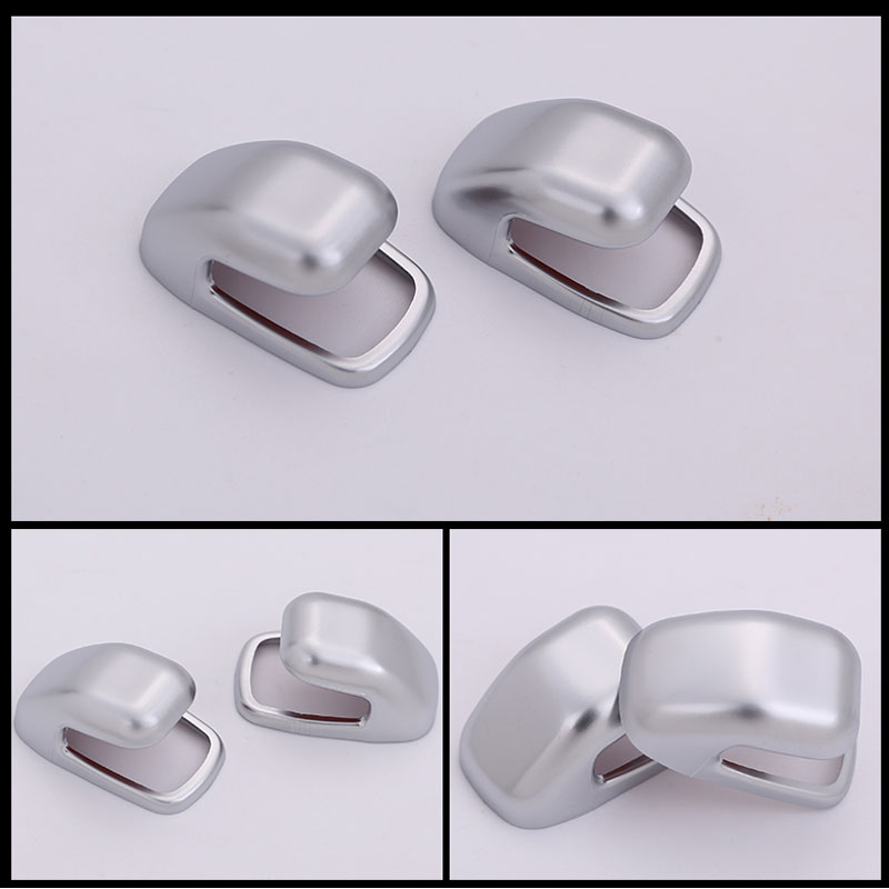 2pcs ABS Chrome B Pillar Hook Cover Trim For Maserati Lavante 2016 Car Accessories