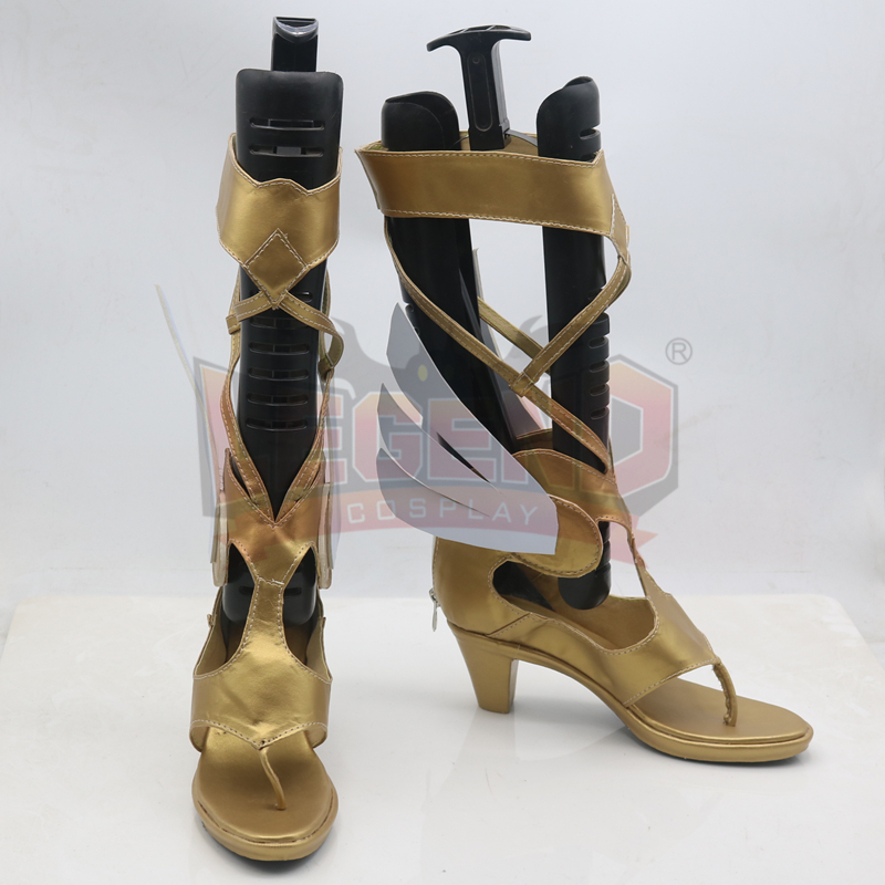 Mercy Victory cosplay shoes Angela Ziegler summer skin cosplay shoes female shoes custom made