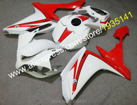 Hot Sales,Red white ABS fairing For Yamaha YZF R1 2007 2008 YZF R1 07 08 YZF1000 motorcycle body fittings (Injection molding)