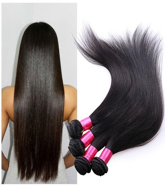Cheap Brazilian Virgin Hair Straight Brown Hair Natural Human Hair
