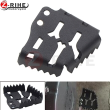 Motorcycle Accessories  Wider Foot Rear Brake Pedal Lever Step Tip Plate for KTM 1190 Adventure R 2015-2016 1290 Super