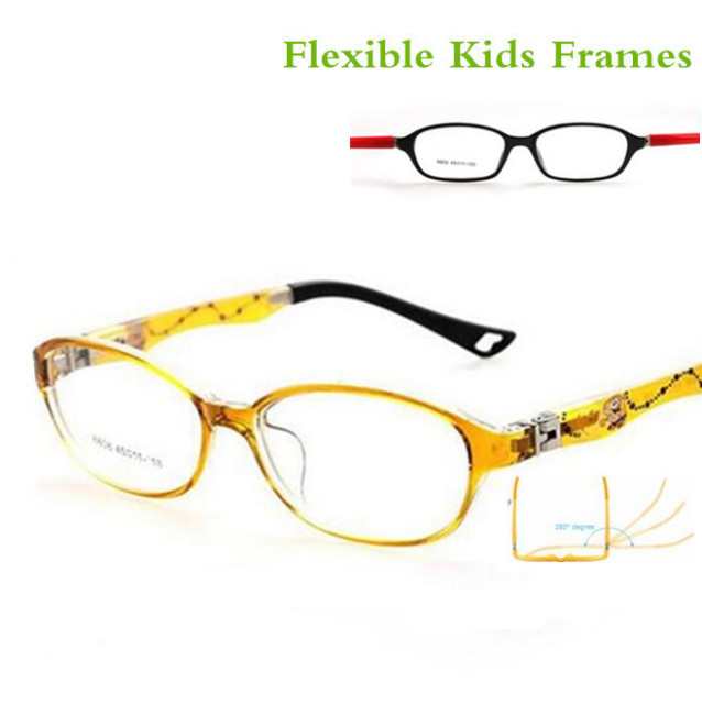 04b7679242b Fashion TR90 Children Decoration Glasses Frames Baby Kids Eyeglass Frames  oculos Boys for Girls Myopia Optical Amblyopia Frame