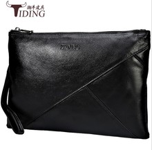 цены Men Clutch Bag Cow Leather Handbag Phone Money Bag Real Leather Long Walllet Business Men Clutches Purse Luxury Long Clutch Bags