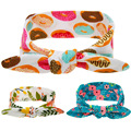 New 2016 Lovely Baby Headbands Girls Hair Bands Hair Accessories Girls Headwear Print Flower Christmas Baby Girls Headband