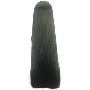 Image 4 - Morematch Boku no Hero Academia Tsuyu Asui Cosplay Wig My Hero Academia Women Long Green Synthetic Hair Halloween Party +Wig Cap