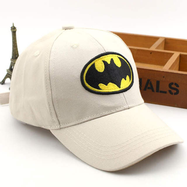 Gorros de béisbol de dibujos animados de Superman Batman para niños  superhéroe Hip Hop sombreros gorra 69e652f5c8b