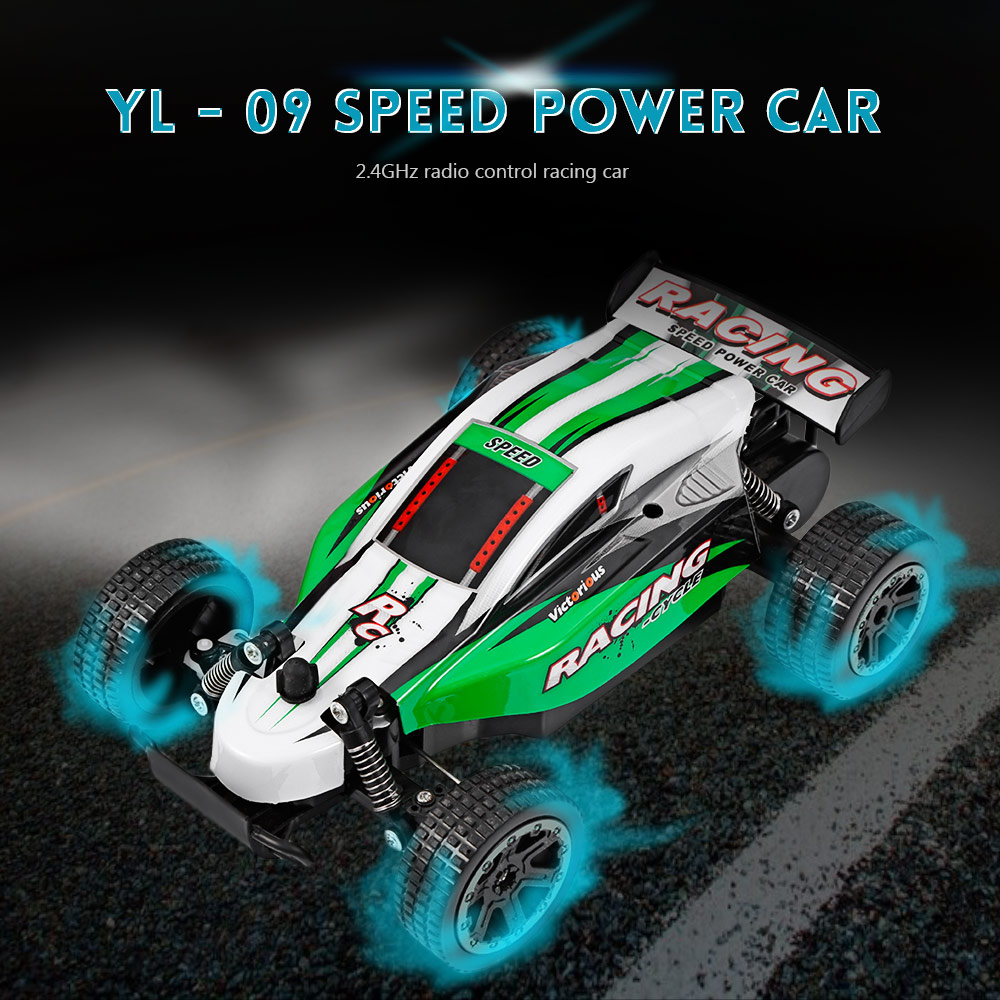 2018 New Arrival RC Cars 2.4GHz 10CH Full Scale High Speed Radio Control Racing Car Shock-absorption spring protects RC Car Toys