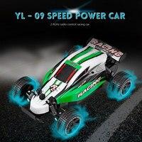 2018 Yeni Varış RC Arabalar 2.4 GHz 10CH Tam Ölçekli Yüksek hız Radyo Kontrol Yarış Araba Şok emme bahar korur RC Araba oyuncaklar