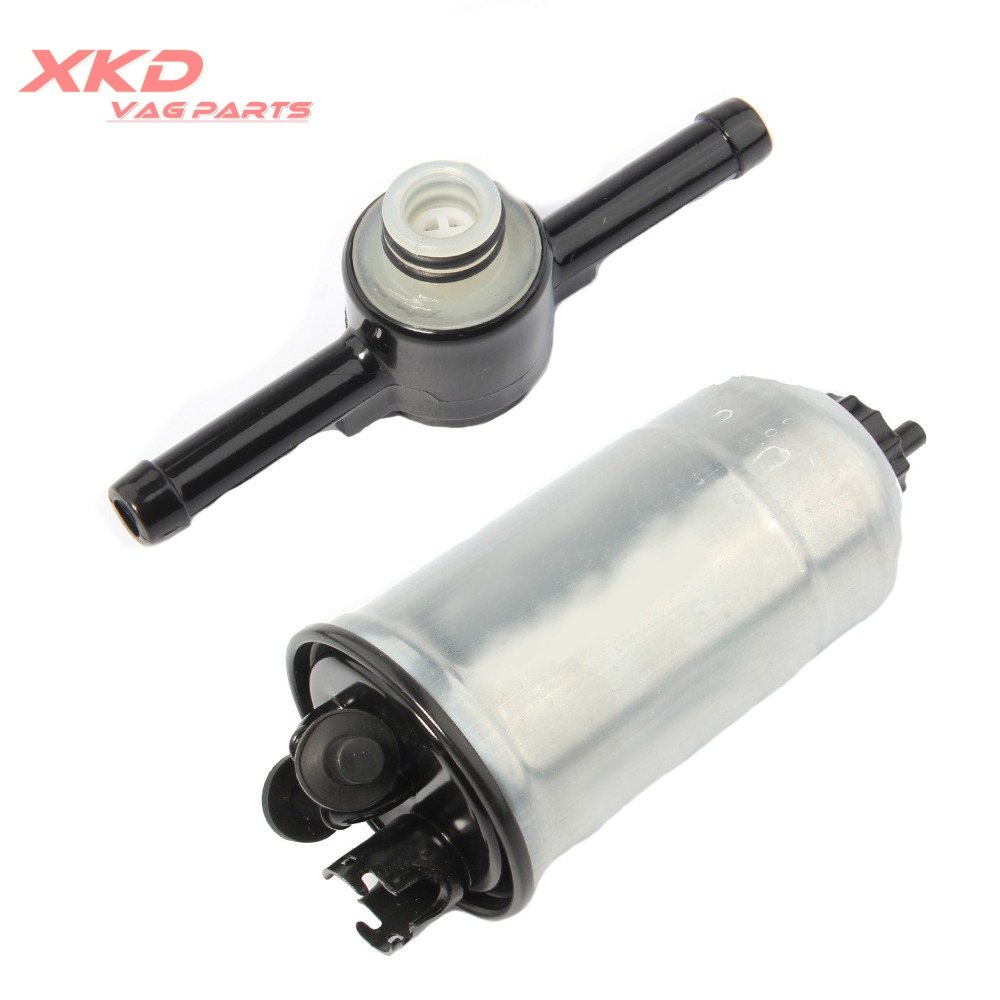 hight resolution of for vw golf jetta mk4 audi a3 a4 a6 diesel fuel filter check valve 1 9tdi 1j0 127 401 a 1j0 127 247 a in fuel filters from automobiles motorcycles on