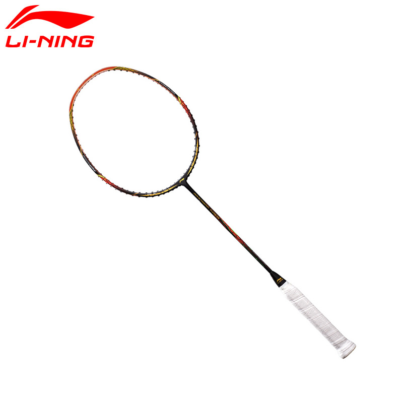 Li-Ning AERONAUT 8000 Professional Badminton Rackets LiNing Single Racket AYPM032(AYPN218) ZYF169 li ning professional badminton rackets carbon offensive type brazil 2016 single racket aypl102 zyf113