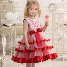 цены Girls Christmas Dress Princess  Kids Dress Tutu Wedding Birthday Party Dresses For Girls Children Costume Teenager Prom Designs