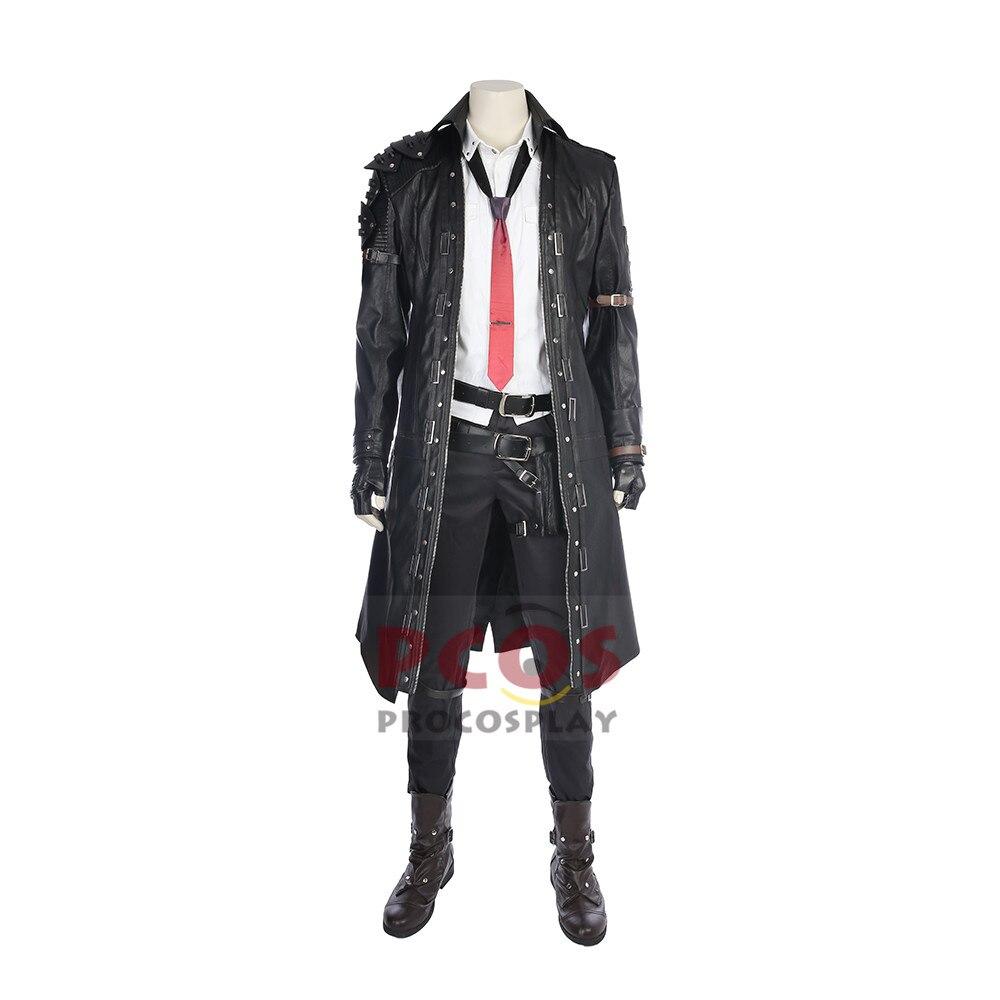 Jeu PUBG Lecteur Inconnu de Champs de Bataille Mâle Plomb noir Cosplay costume costume mp003919