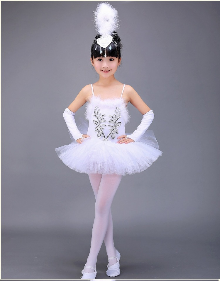 d5f3be354fc7 Professional White Swan Lake Ballet Tutu Costume Girls Children Ballerina  Dress Kids Ballet Dress Dancewear Dance Dress For Girl-in Ballet from  Novelty ...