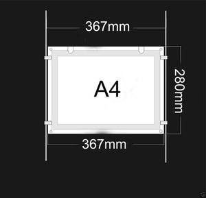 Image 4 - (5Unit/คอลัมน์) A4เดี่ยวEstate Agents LEDป้ายแสดง,LED Illuminatedกระเป๋าแนวตั้งและแนวนอนPosterDisplays