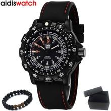 Top luxe marque ADDIES 2020 hommes montres sport militaire montres étanche en plein air brillant Quartz montre hommes Relogio Masculino