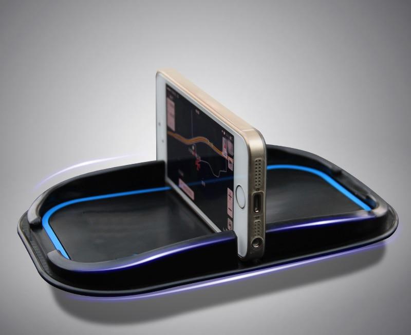 1 шт. для Mazda 2014-2017 Axela с надписью нескользящая коврик автомобильный держатель для мобильного телефона