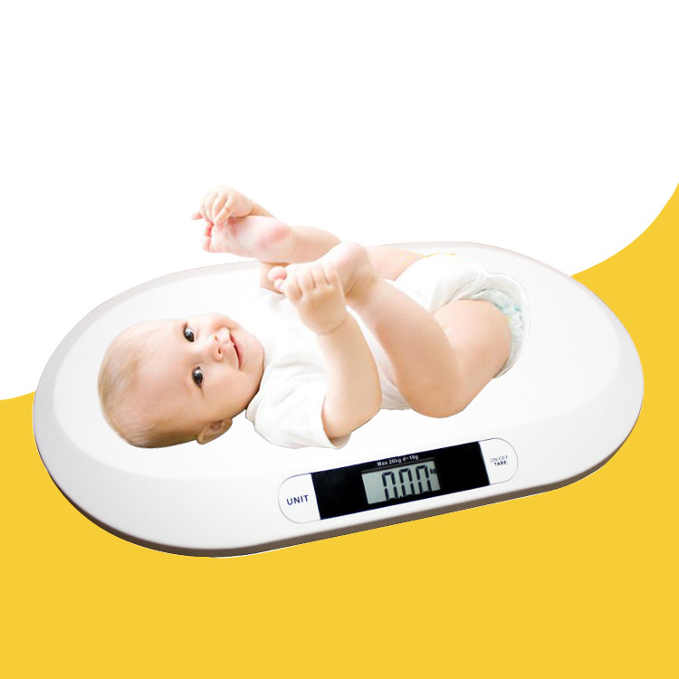 baby scales Multi function digital display of intelligent boys girls electronic scales growth weighing health